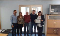 Entrega de certificados a autoridades de SADOP