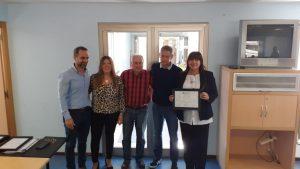 Lee más sobre el artículo Entrega de certificados a autoridades de SADOP