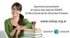 Lee más sobre el artículo OSDOP tiene una nueva web